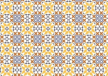 Portuguese Tile Vector Pattern - Free vector #378649