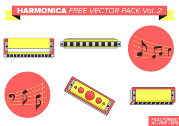 Harmonica Free Vector Pack Vol. 2 - бесплатный vector #378659