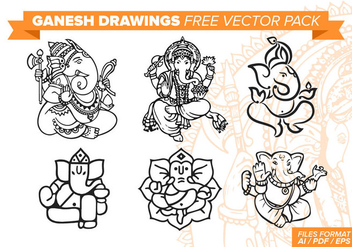 Ganesh Free Vector Pack - Kostenloses vector #378849
