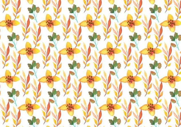 Free Vector Watercolor Floral Background - vector #379179 gratis