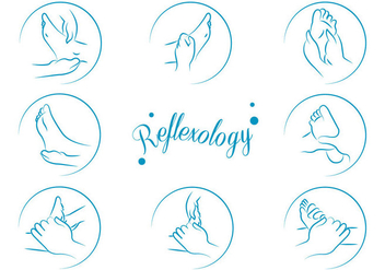 Free Reflexology Vector - бесплатный vector #379469