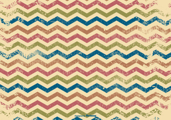 Grunge Chevron Background - Kostenloses vector #379569
