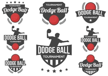 Free Dodge Ball Logo Vector - Free vector #379609