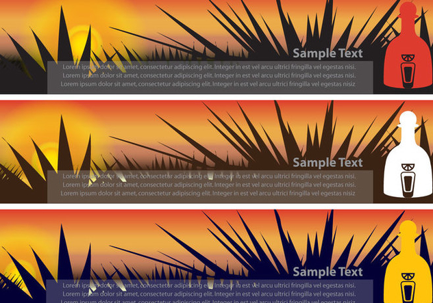 Banners Tequila - Kostenloses vector #379739
