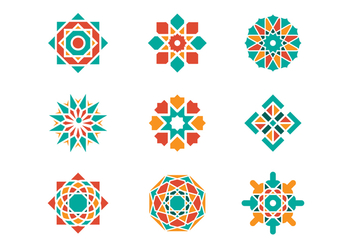 Free Arabesque Graphic Vectors - Free vector #380189