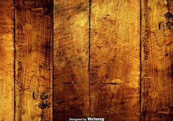 Vector Grungy Hardwood Scratched Planks - бесплатный vector #380229