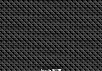 Vector Seamless Pattern With Black Triangles - vector gratuit #380249
