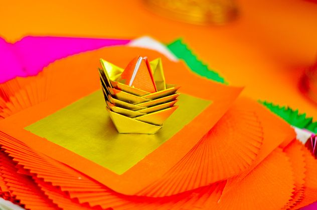 Small paper boats - image gratuit #380489