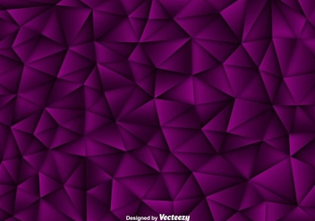 Vector Background Of Purple Polygons - Kostenloses vector #381269