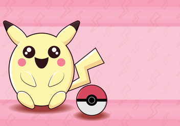 Pokemon Pink Monster - vector gratuit #381399