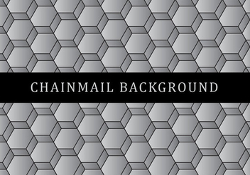 Chainmail Background - vector #381429 gratis