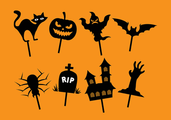 Halloween shadow puppet - Free vector #381719