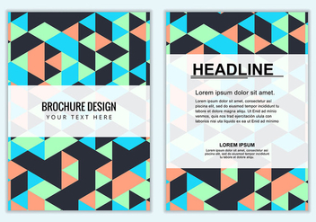 Free Vector Business brochure - Free vector #381729