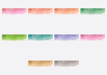 Webkit Linear Watercolor Gradient Top - бесплатный vector #381839