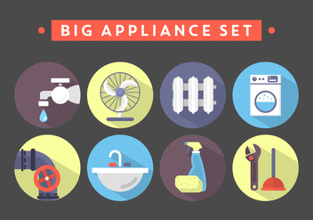 Household Objects - vector gratuit #381919