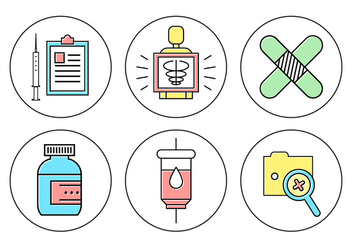 Free Medical Icons - vector #382109 gratis