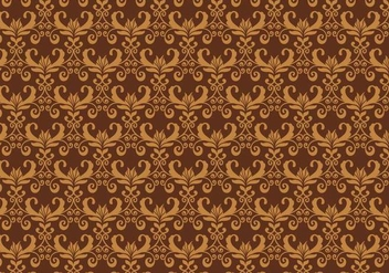 Brown Vector Western Flourish Pattern - vector gratuit #382639