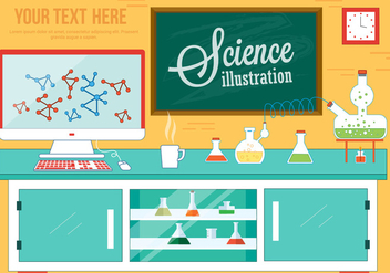 Free Science Lab Vector - Kostenloses vector #382699