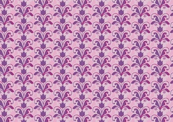 Pink Vector Western Flourish Pattern - Free vector #382789