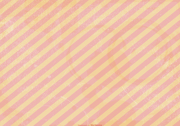 Peach Striped Grunge Vector Background - бесплатный vector #382859