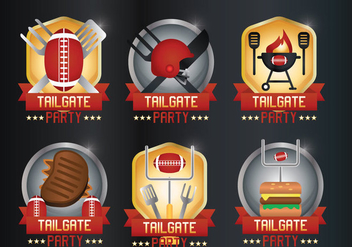 Tailgate Vector - Kostenloses vector #382989