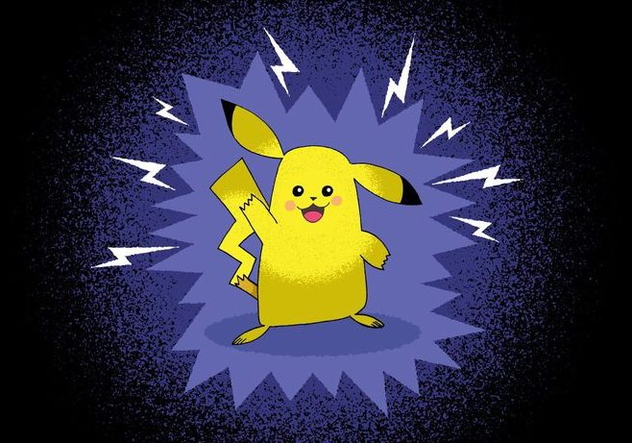Pokemon Pokemon Pikachu character - Free vector #383099