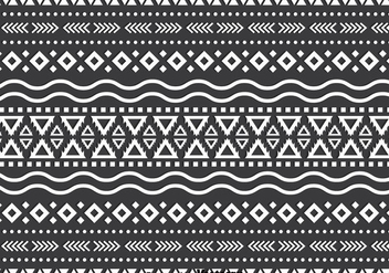 Monochromatic Ethnic Background - vector gratuit #383569