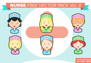 Nurse Free Vector Pack - бесплатный vector #383579
