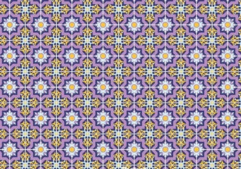 Talavera Tiles Seamless Background - Free vector #383619