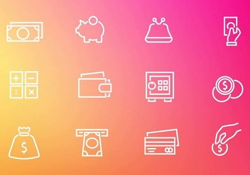 Free Finance Money Icons Vector - vector gratuit #383709