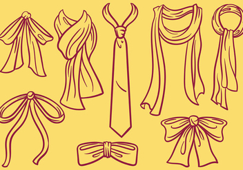 Free Cravat Icons Vector - Free vector #383739
