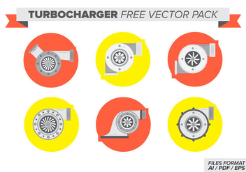 Turbocharger Free Vector Pack - бесплатный vector #383769
