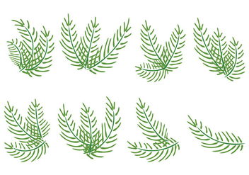 Palm Sunday Vector Palms - vector #383859 gratis