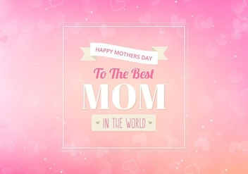 Free Vector Moms Background - Kostenloses vector #383929
