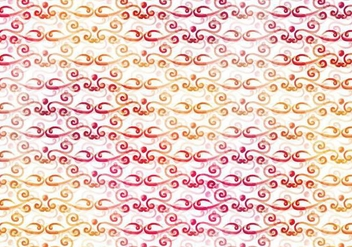 Warm Vector Watercolor Royal Background - vector #383959 gratis