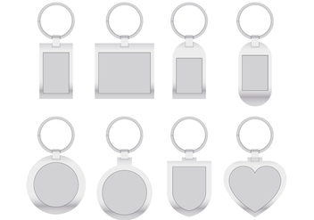 Metal Key Chains - Free vector #383999