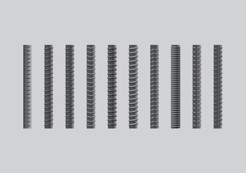 Rebar Realist Icon Set - Free vector #384069