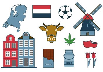 Free Netherland Vector Icon - Free vector #384259