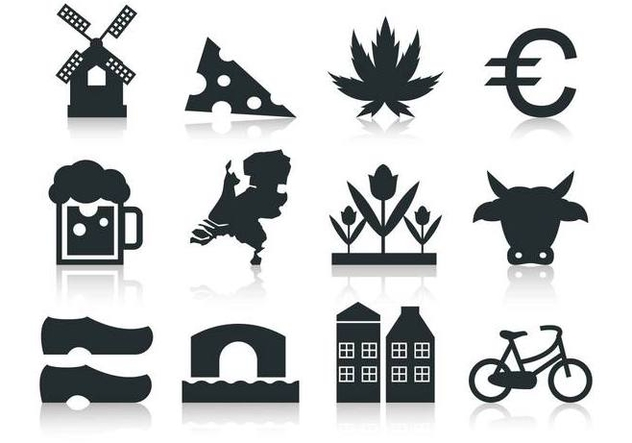 Free Netherlands Icon Vector Free - vector #384329 gratis