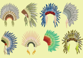 Free Native Bonnet Icons - vector #384559 gratis