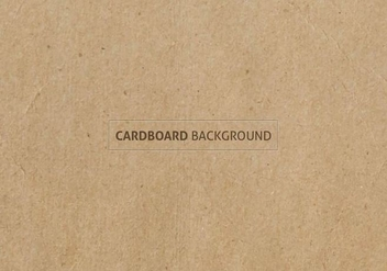 Free Vector Cardboard Texture - Free vector #384599