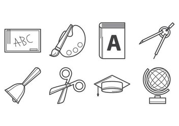 Free Education Icon Vector - бесплатный vector #384689