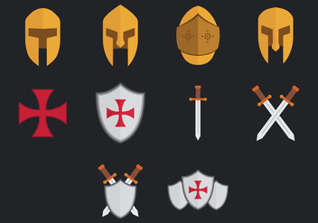 Templar Icon - vector gratuit #384699