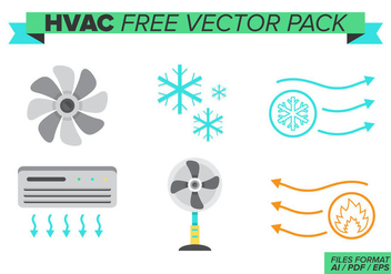 Hvac Free Vector Pack - бесплатный vector #384819