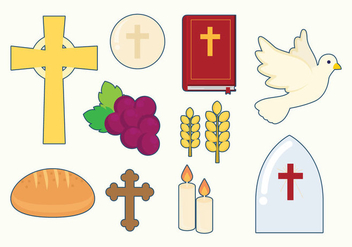 Free Eucharist Icons - бесплатный vector #384879