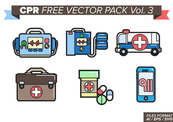 Cpr Free Vector Pack Vol. 3 - бесплатный vector #385339