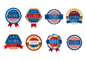 Presidential Seal Election Vector Free - vector gratuit #385499