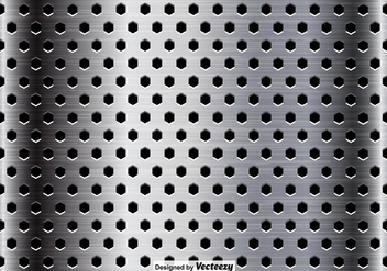Metallic Surface Close Up Background - vector gratuit #385679