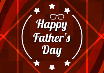 Free Vector Happy Father's Day Background - vector gratuit #385709