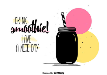Smoothie Background - vector gratuit #385729